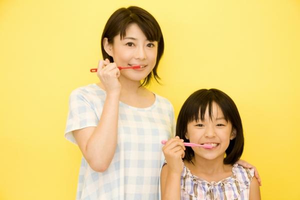 ご自宅でできるお子さんの歯のケア
